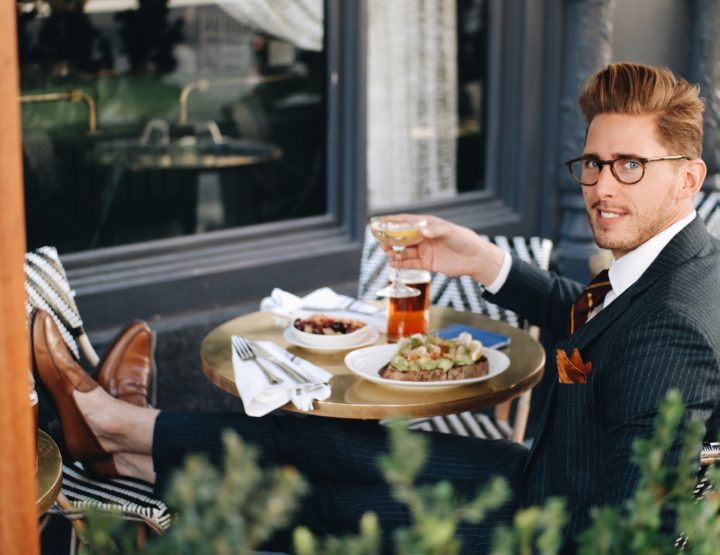 BRUNCHING WITH BROOKS BROTHERS